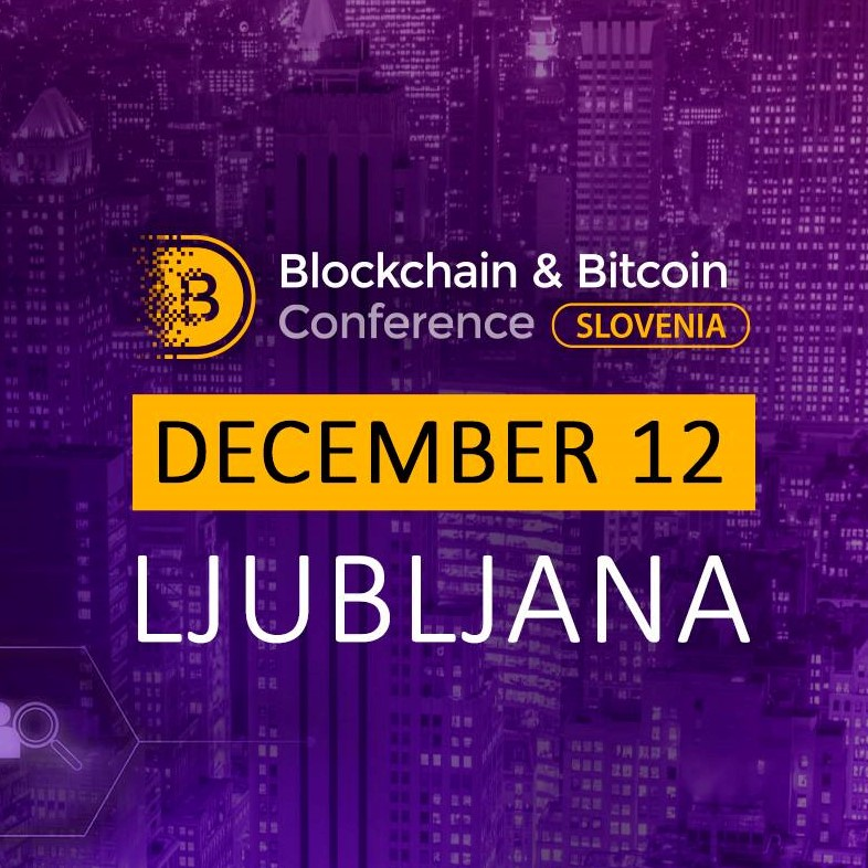 Blockchain & Bitcoin Conference Slovenia_