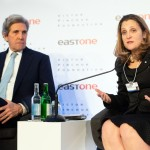 John Kerry, Chrystia Freeland